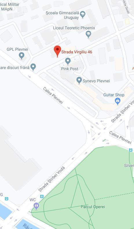 Localizare sediu pe Google Map